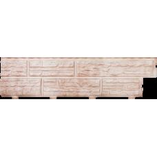 Панель виниловая СФ - 01 - (Кремовая) - 3,1 х 0,23м. 1/18 Альта П