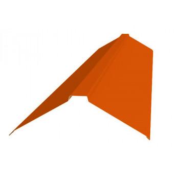 Конек фигурный оранжевый (RAL 2004)
