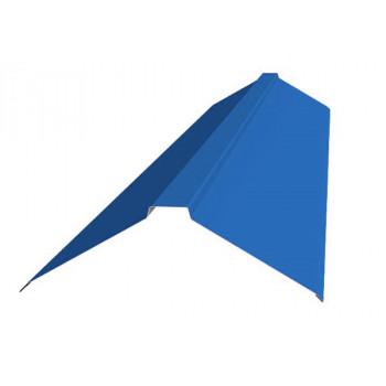 Конек фигурный синий (RAL 5005)