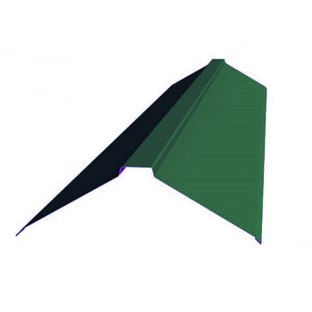 Конек фигурный зеленый мох (RAL 6005)