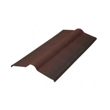 Конек для Ондулин черепицы коричневый
