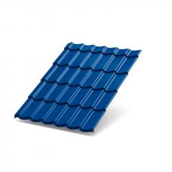 Металлочерепица -(5005)-3,95*1,19 (синяя) 0,4
