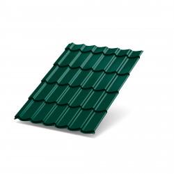 Металлочерепица-(6005)-3,95*1,19 (зеленый мох)