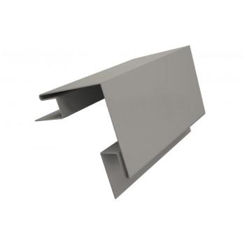 Угол наружный сложный серый (RAL 7004)