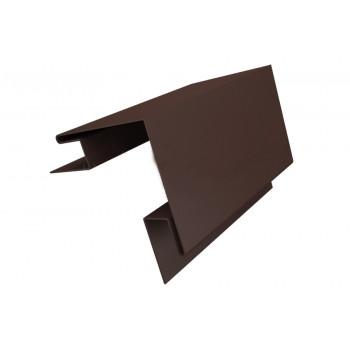 Угол наружный сложный коричневый (RAL 8017)