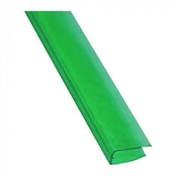 Торцевой профиль зеленый