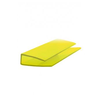 Торцевой профиль желтый
