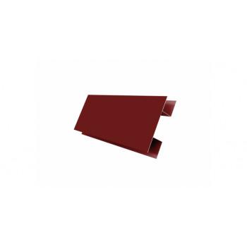 H-профиль красное вино (RAL 3005)
