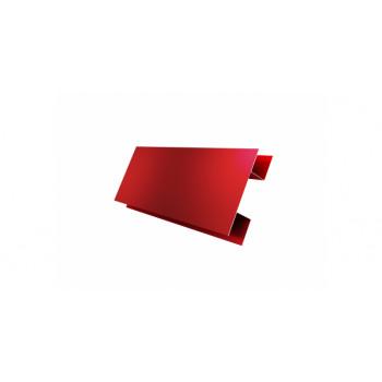 H-профиль красный (RAL 3011)