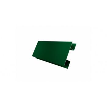 H-профиль зеленый мох (RAL 6005)