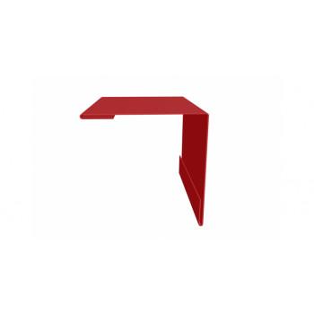 Планка наружного угла красный (RAL 3011)