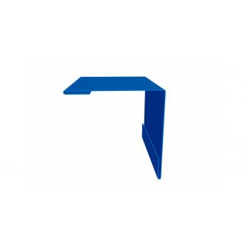 Планка наружного угла синий (RAL 5005)