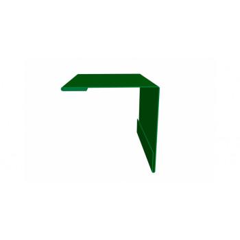 Планка наружного угла зеленый (RAL 6002)