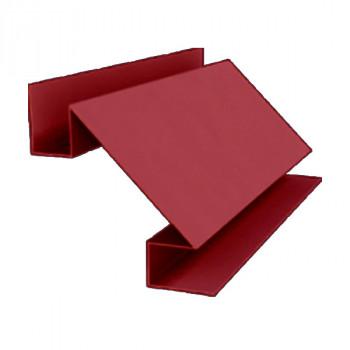 Угол внутренний сложный красный (RAL 3011)
