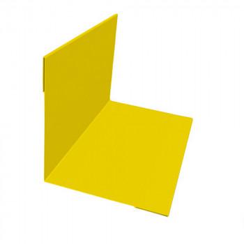 Планка внутреннего угла желтая (RAL 1018)