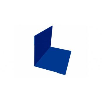 Планка внутреннего угла синий (RAL 5005)
