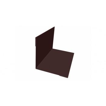 Планка внутреннего угла коричневый (RAL 8017)
